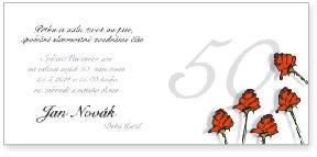 Růže - padesáté narozeniny