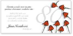 Růže - osmdesáté narozeniny