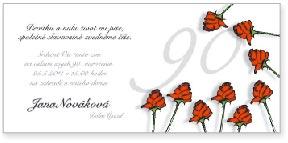 Růže - devadesáté narozeniny