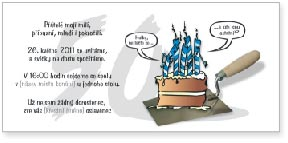 50. narozeniny - stavební profese