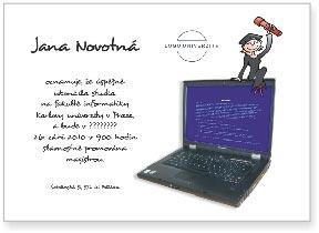 Promoce - informatička
